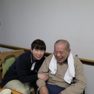 いつもお世話になります!廣瀬ケアマネージャーさん